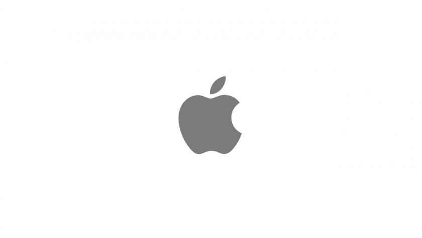 アップルのロゴ。
