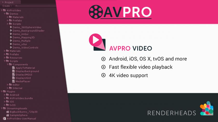 AVPro のイメージ。
