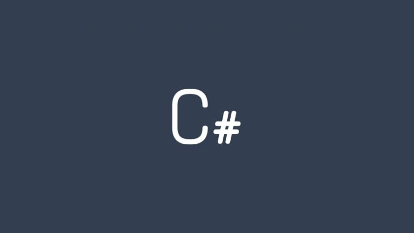 C#のイメージ。