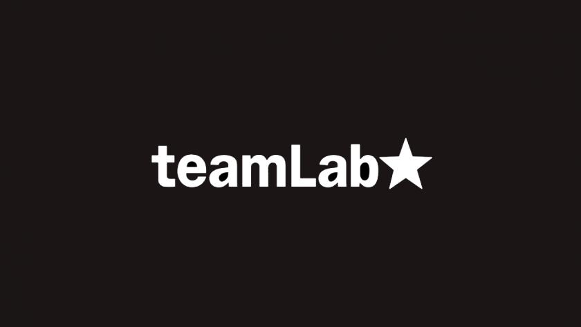チームラボのロゴ。